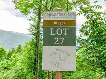 Lot 27 Cherry Knob Drive in Mars Hill, North Carolina 28754 - MLS# 3256180