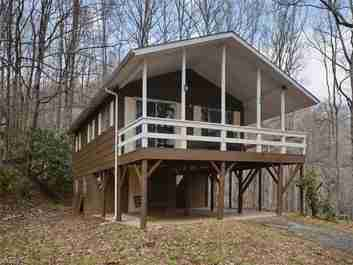 692 Pot Leg Road in Waynesville, North Carolina 28785 - MLS# 3262847
