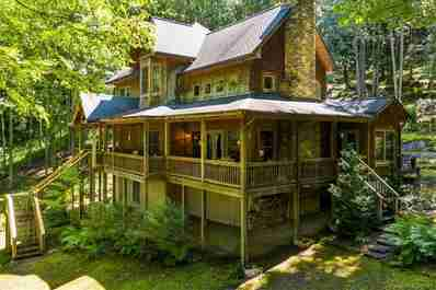 12407 Highway 107 Highway in Tuckasegee, NC 28783 - MLS# 3541266