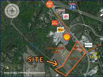 5423 / 5429 Asheville Highway in Hendersonville, NC 28791 - MLS# 3567681