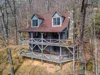180 Little Mountain Road in Maggie Valley, NC 28751 - MLS# 3601843