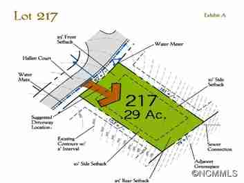 51 Hallett Court (lot 217) #217 in Asheville, North Carolina 28803 - MLS# 591480
