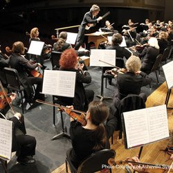 closeup photo of Asheville Symphony Orchestra