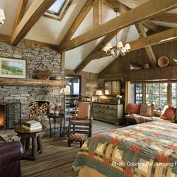 Photo Inside a Rustic Waynesville Cabin