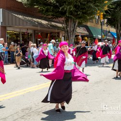 Photo of International Dancers in the Streets in Waynesville