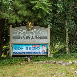 Photo of Flat Rock Playhouse sign