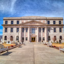 Photo of Haywood County Court House