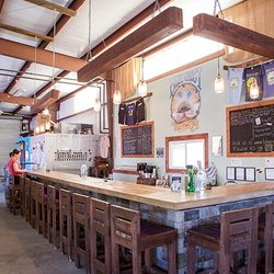 Blue Ghost Brewing offers a range of local craft beers