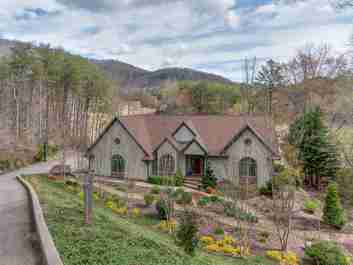 246 Summer Morning Court in Lake Lure, North Carolina 28746 - MLS# 3377325