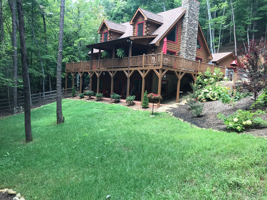 123 Melrose Court in Lake Lure, North Carolina 28746 - MLS# 3476377