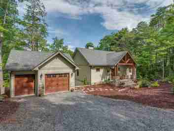 159 Bee Tree Point in Lake Lure, North Carolina 28746 - MLS# 3522205