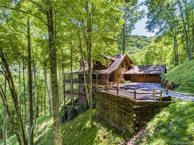 110 Dotsu Trail in Maggie Valley, North Carolina 28751 - MLS# 3162961