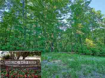 Lot 31 Hawks Nest Trail in Lake Lure, North Carolina 28746 - MLS# 3533653